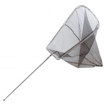 Nacsan Cable Tied Whitebait Scoop Net 3.7m with Trap