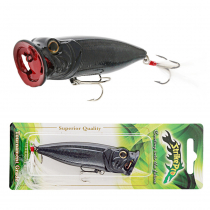Strike Pro Sea Monster Popper Lure Indigo Diamond 23g