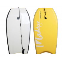 Maddog 37inch Foam Eater Body Board - Yellow