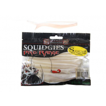 Squidgies Pro Flick Soft Bait with S-Factor Attractant 110mm Pacific Pearl