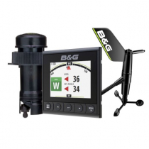 B&G Triton2 Digital Instrument Speed/Depth/Wireless Wind Pack with DST810 Transducer