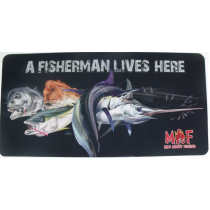 Mad About Fishing Mat