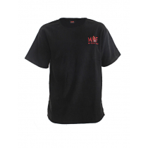 Mad About Fishing Fleece T-Shirt Black 3XL
