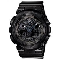 G-Shock GA100CF-1A Camouflage Series Watch Black 200m