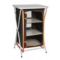 Kiwi Camping 3 Tier Camp Pantry Black