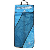 Cressi Pluma Mesh Bag for Snorkel and Fins Set Blue