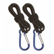 Nylon Bungee Paddle and Rod Leash 2pc