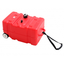 BLA Polyethylene Outboard Fuel Tank with Wheels 45L
