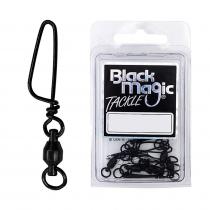 Black Magic Twin Spin Ball Bearing Game Swivels