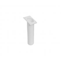 Oceansouth 30-Degree Rod Holder Rectangle White