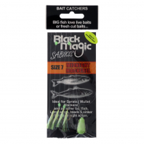 Black Magic Bait Sabiki Midnight Mackerel