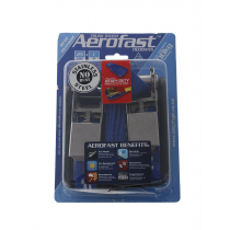 Aerofast Transom Stainless Steel Ratchet Tiedowns 500kg Pair