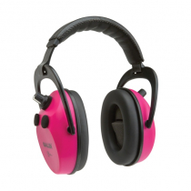 Allen Axion Electronic Lo-Profile Shooting Earmuffs Orchid