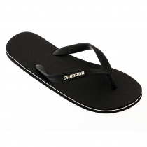 Shimano Jandals Black with Logo on Strap US8
