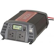 Powertech Pure Sine Wave Inverter with 20A Solar Regulator 600W