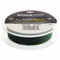 Spiderwire Ultracast Fluoro-Braid Moss Green 30lb 300yds 0.3mm dia
