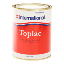 International Toplac Topside Paint 1L White 905