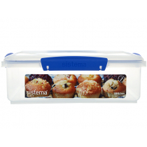 Sistema KLIP IT Sealed Square Container 3.5L