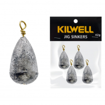 Kilwell Tear Drop Swivel Sinkers Pack 42g 1 1/2oz Qty 4