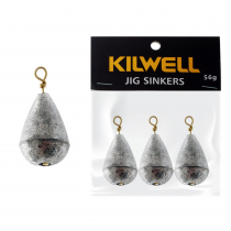 Kilwell Tear Drop Swivel Sinkers Pack 56g 2oz Qty 3