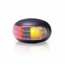 Hella Marine DuraLED Side Marker Lamp Red/Amber