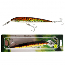 Strike Pro Stunner Lure 18cm Golden Sunset