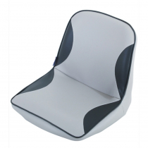 First Mate Fully Upholstered Seat - Grey and Charcoal