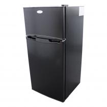 Challenger Fridge/Freezer with Interchangeable Door 102L 12V/24V - Black