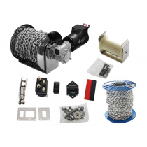 Viper Pro Series II 1500 Electric Anchor Drum Winch Bundle