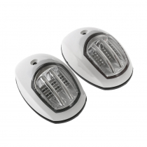 BLA Side Mount LED Navigation Lights Pair 12v White