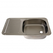 Dometic Sink/Drainer with Plug and Waste Outlet 590 x 370mm