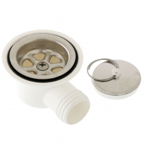 Dometic Waste Outlet - Angled 25mm