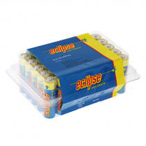 Eclipse AA Alkaline Batteries Bulk Pack Qty 40