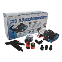 Jabsco Washdown Pump with Strainer and Nozzle 12v 11L 50PSI