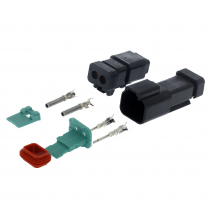 Waterproof Deutsch 2-Way Connector Set