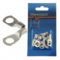 8mm Non-Insulated Eye Terminal 6mm2 Qty 8