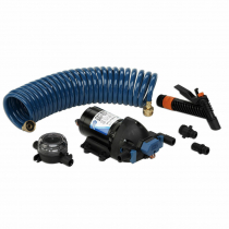 Jabsco Washdown Kit with Filter Nozzle Hose 12V 15L 60PSI