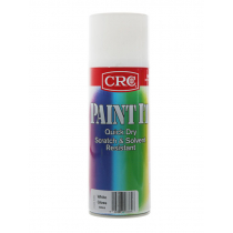CRC Paint It Quick Dry Scratch Resistant Paint White Gloss 400ml