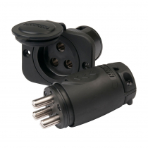 Marinco 70A 3-Wire Trolling Motor Plug and Receptacle Combo