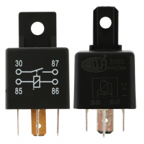 Hella Marine 4 Pin Diode Protected Mini Relay - Normally Open