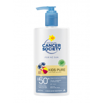Cancer Society Kids Pure Lotion Sunscreen Pump Bottle SPF50 400ml