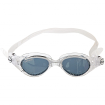 Cressi Flash Womens Clear Swimming Goggles Smoke Lens