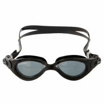 Cressi Flash Womens Black Swimming Goggles Smoke Lens