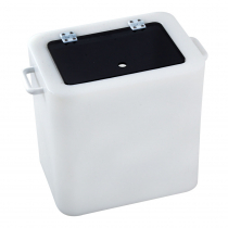 Hi-Tech Live Bait Tank with Fixed Acrylic See-Through Lid 30L