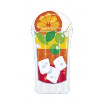 Bestway Tropical Beverage Inflatable Lilo Pool Float Orange