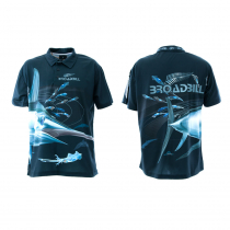 Mad About Fishing Broadbill Polo Shirt