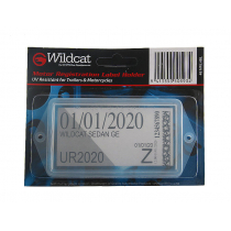 Wildcat Trailer Registration Sticker Holder