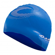 Aropec Adult Silicone Volume Swim Cap Blue