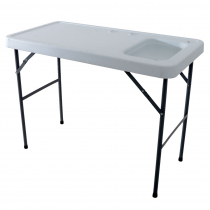 Collapsible Filleting Table with Sink 1145 x 590 x 865mm