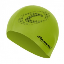Aropec Adult Silicone Volume Swim Cap Lime